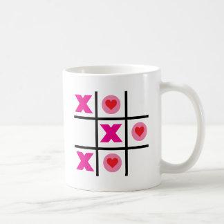 XOXO Tic Tac Toe Coffee Mug