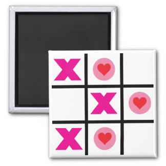XOXO Tic Tac Toe Fridge Magnets
