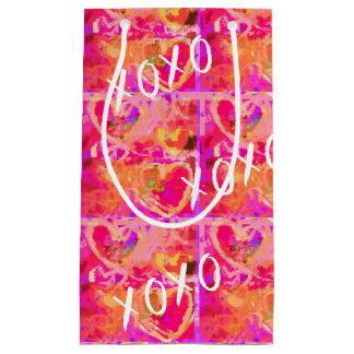 XOXO Valentine Hearts Small Gift Bag
