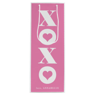 xoxo Valentine's day gift bag