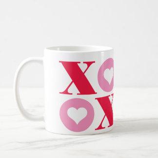 xoxo valentine's day mug