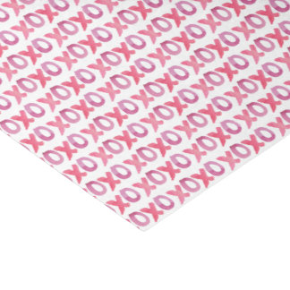 XOXO Valentine's Day Patterned Tissue Paper