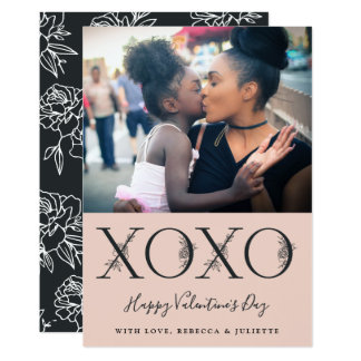 XOXO | Valentine's Day Photo Card