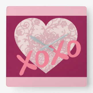 XOXO WALLCLOCKS