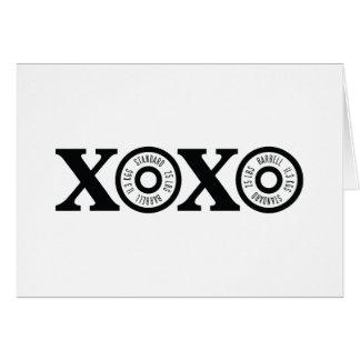 Xoxo Weightlifting Card