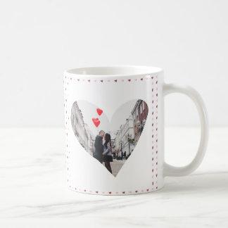 XOXO With Hearts Photo Coffee Mug