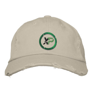 XP Coin Embroidered District Threads Distresse Embroidered Hat