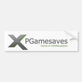 XPGamesaves Range v1 Bumper Sticker