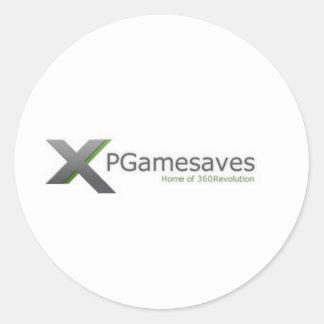 XPGamesaves Range v1 Round Sticker