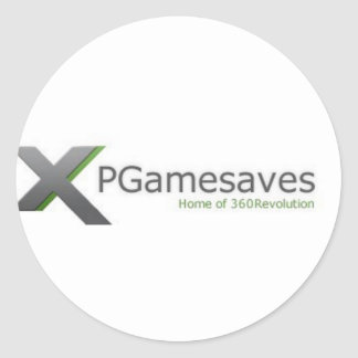 XPGamesaves Range v1 Round Stickers