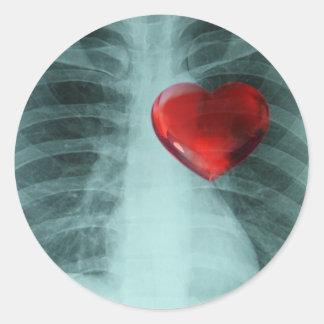 Xray Heart Case Sticker