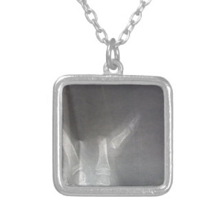 Xray Silver Plated Necklace