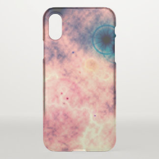 xRay Space Diffuse Pink Nebula and Supernova iPhone X Case