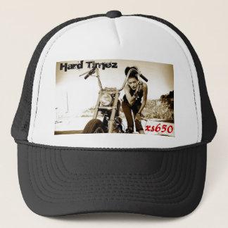 xs650, Hard Timez,...bobber yamaha Trucker Hat