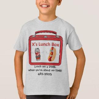 X's lunch t-shirt