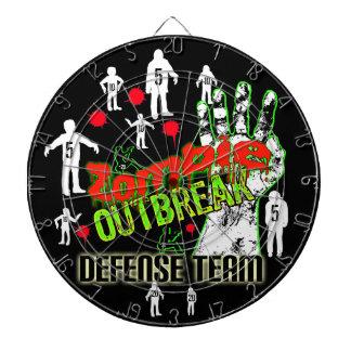 Xtra Points Zombie Outbreak Defense Team DartBoard