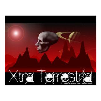 Xtra Terrestria, Xtra Terrestrial, painting is ... Postcard