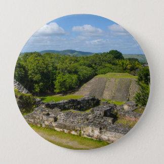Xunantunich Mayan Ruin in Belize 4 Inch Round Button