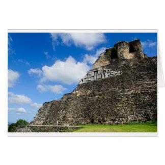 Xunantunich Mayan Ruin in Belize Card
