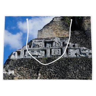 Xunantunich Mayan Ruin in Belize Large Gift Bag