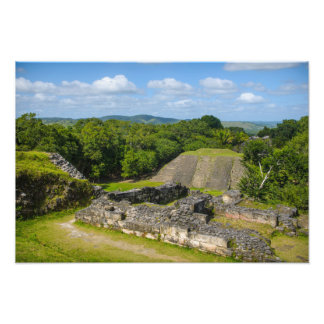Xunantunich Mayan Ruin in Belize Photo Art