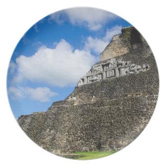 Xunantunich Mayan Ruin in Belize Plates