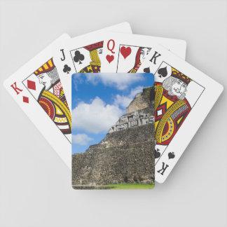 Xunantunich Mayan Ruin in Belize Playing Cards