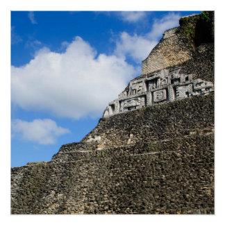 Xunantunich Mayan Ruin in Belize Poster