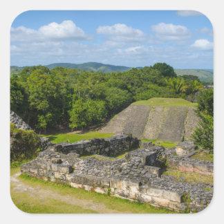 Xunantunich Mayan Ruin in Belize Square Sticker