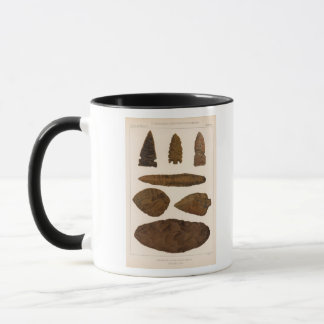 XVI Stone implements, New Mexico Mug