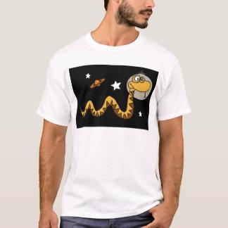 XX- Astronaut Snake Cartoon T-Shirt