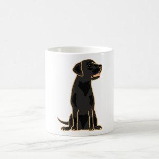 XX- Awesome Black Labrador Retriever Design Coffee Mug