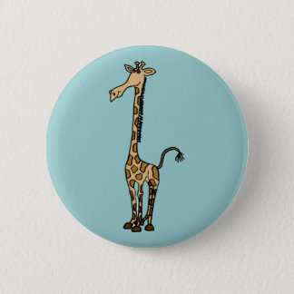 XX- Awesome Giraffe 2 Inch Round Button