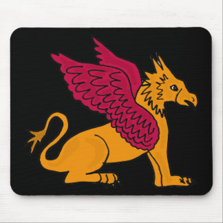 XX- Awesome Gryphon Cartoon Mouse Pad