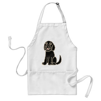 XX- Awesome Labradoodle Puppy Dog Standard Apron