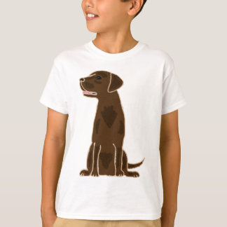 XX- Chocolate Labrador Retriever Puppy Dog T-Shirt