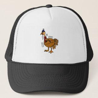 XX- Cold Turkey Cartoon Trucker Hat