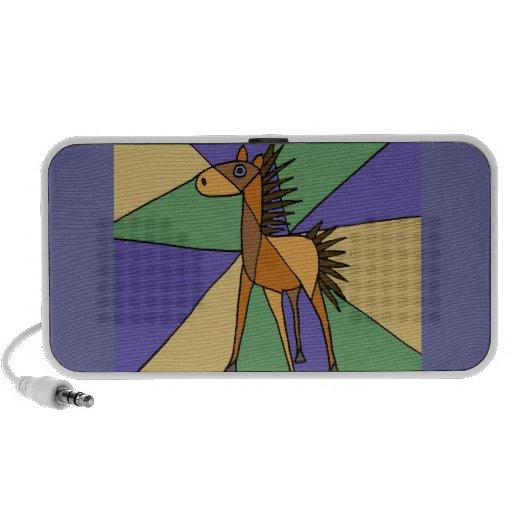 XX conception de cheval d'art populaire Haut-parleur Mp3