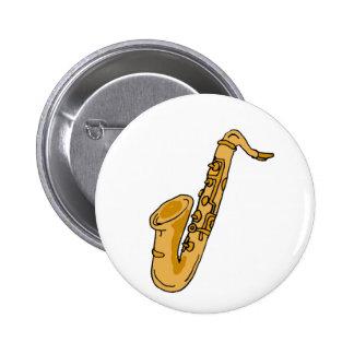 XX- Cool Saxophone Cartoon Pins