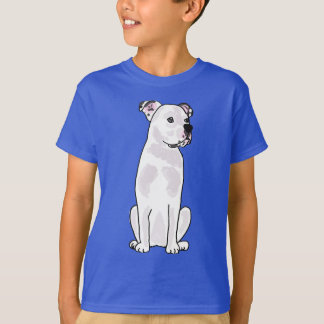 XX- Cute American Bulldog with Studded Collar Shirts