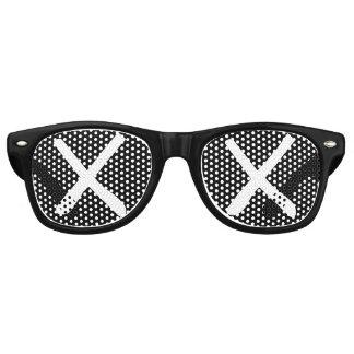 "XX Eyes - ""Crossed Out Eyes"" Sunglasses (Black)"