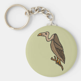 XX- Funky Buzzard Basic Round Button Keychain
