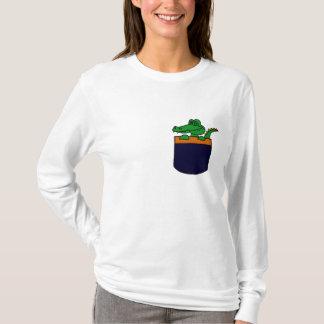XX- Funny Alligator in a Pocket T-Shirt