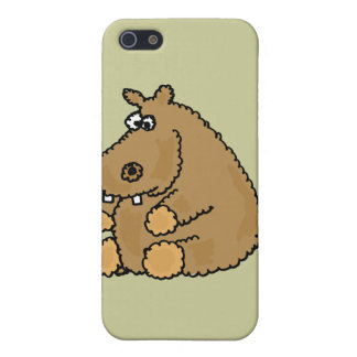 XX- Funny Hippo Cartoon Cover For iPhone 5
