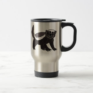XX- Funny Honey Badger Travel Mug