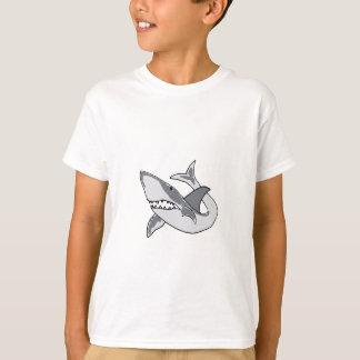 XX- Funny Shark Cartoon T-Shirt
