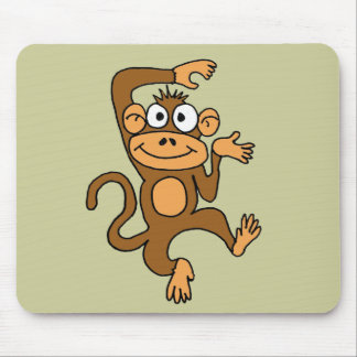XX- Happy Dancing Monkey Mouse Pad