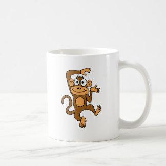 XX- Happy Dancing Monkey Coffee Mug
