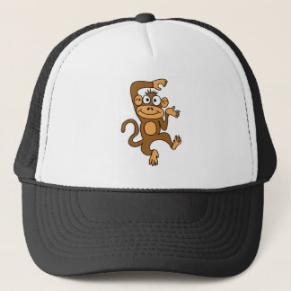 XX- Happy Dancing Monkey Trucker Hat