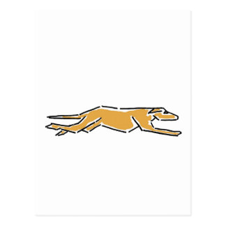 XX- Racing Greyhound Postcard